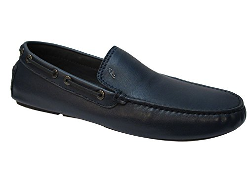Brioni Men's Navy Leather Loafers 8.5 for sale  Delivered anywhere in USA