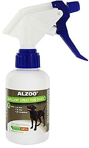 Alzoo Natural Repellent Spray For Dogs 8.3 Oz by Aveeva