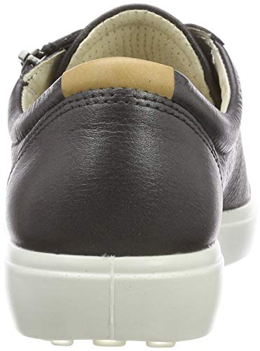 Ladies Sneakers Femme Shadow Ecco Metallic 51383 Soft black 7 Basses Dark qFxEf