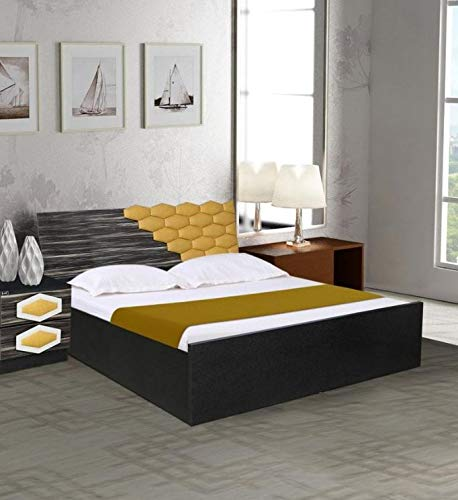 Parin Honeycomb King Size Bed with Hydraulic Storage