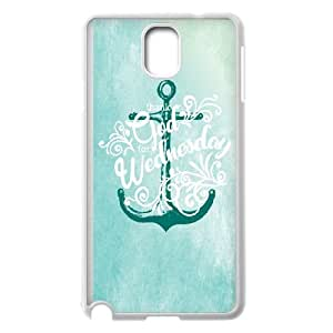 Samsung Galaxy Note 3 Cell Phone Case White Anchor Map S2J4O