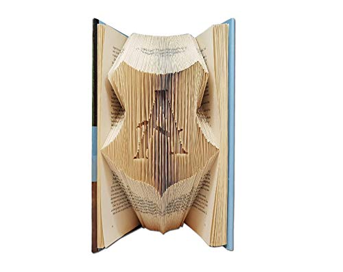 Personalized Hogwarts Crest Logo with your own initial by Folded Book Art