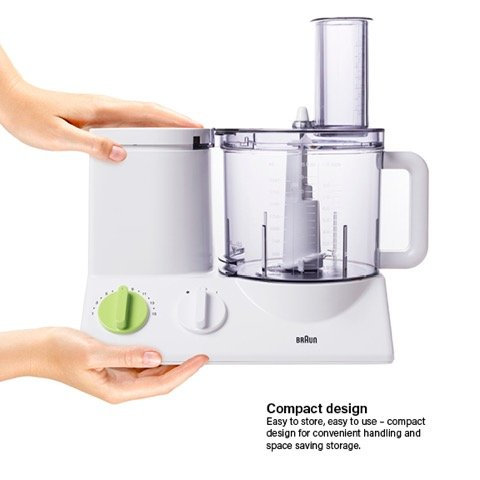 BRAUN FP3020 Food Processor With The Coarse Slicing Insert Blade And French fry System Bundle – 3 items by Braun (Image #3)