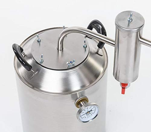 15 Liters Home Distiller Moonshine Alcohol Still Stainless Steel (15L)