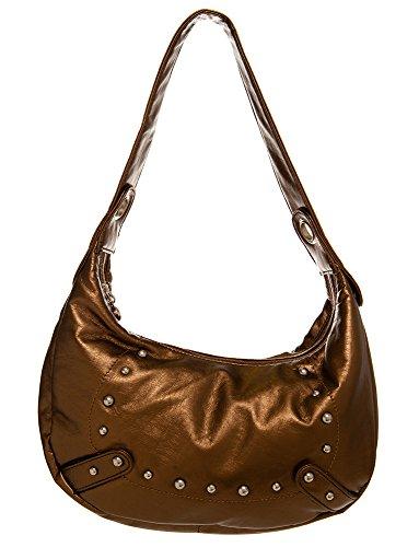 (Lightly Studded Hobo women handbag Shoulder Handbag by Handbags For All)