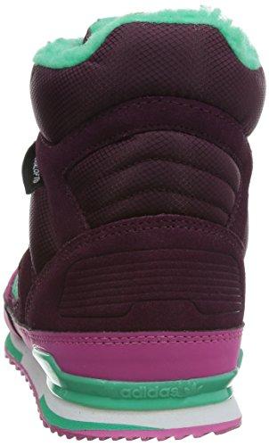 Adidas - Zx Winter - Farbe: Dunkelrot-Rosa-Türkisfarbig - Größe: 38.6EU
