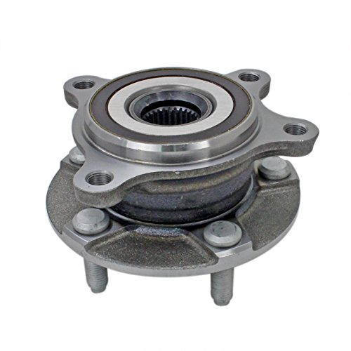 (CRS NT590139 New Wheel Bearing Hub Assembly, Front Right (Passenger) Side, for Lexus IS250 2006-2015/IS350 2006-2016/RC350 2015-2016/GS300/GS350/GS430/GS450H/GS460 2006-2016 (Exc.2012), AWD)