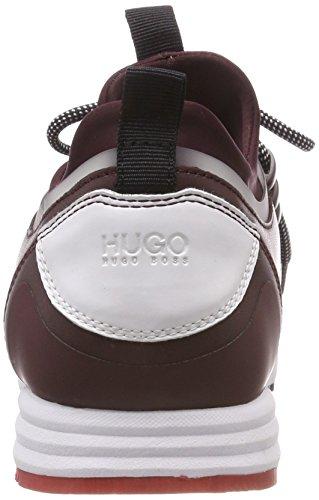 Hugo Hybrid Running-n, Scarpe da Ginnastica Basse Donna Rosso (Dark Red 609)