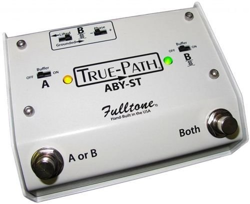 Fulltone Custom Shop True-Path ABY-ST - White