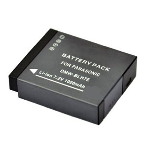 Panasonic Lumix DMC-GF7  Digital Camera Battery Lithium-Ion (1000mAh 7.2V) - Replacement for Panasonic DMW-BLH7E Battery by Power 2000
