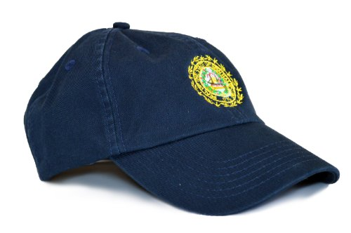 New Hampshire State Flag Low Profile Baseball Hat / Golf Cap