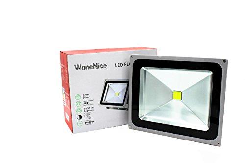 WoneNice Waterproof Spotlights Industrial Surveillance