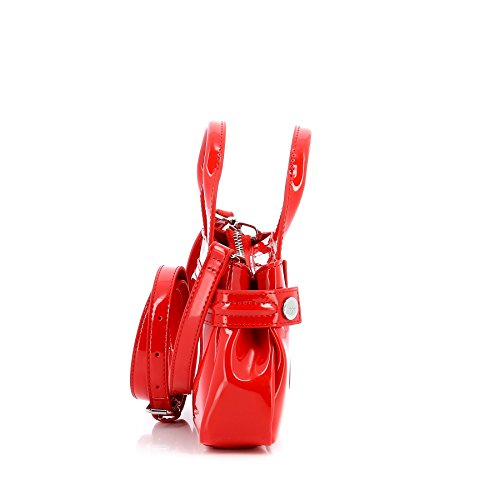 Armani Jeans Borsa mini Donna 922528 Vernice rosso Comprar El Mejor Barato Calidad Para La Venta Libre Del Envío Sitio Oficial El Precio Barato Más Barato pDShwoNG6