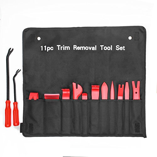 Ansite Auto Trim Removal Tool Set-13 Pcs Auto Trim Upholstery Removal Kit Installer Pry Tool with Fastener Removers by Ansite (Image #7)