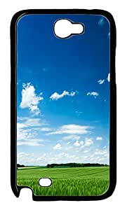 Fields Of Beauty 13 Custom iSamsung Galaxy Note II N7100 Case Cover ¨C Polycarbonate ¨CBlack