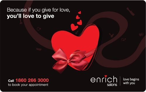 Get Flat 7% off at Checkout||Enrich Salons Gift Card