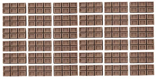 Curious Minds Busy Bags Bulk - 36 Chocolate Candy Bar Erasers - Scented - Good Idea Smarty Pants - Super Student Employee Classroom Reward, Party Favor, Fun School Supply -
