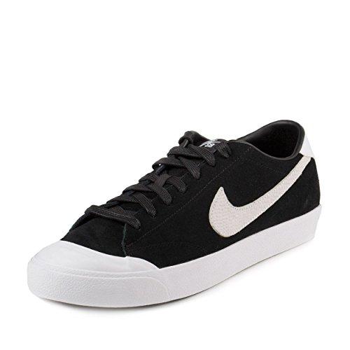 Nike Men's Zoom All Court Ck Qs Black/white Skate Shoe