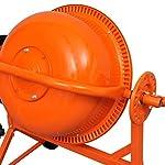 vidaXL-141200-Betoniera-Elettrica-63-L-220W-Acciaio-Arancione