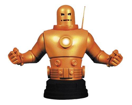 Gentle Giant Studios Iron Man Mark II (Gold Armor) Mini Bust ()