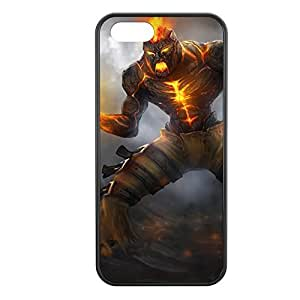 Brand-004 League of Legends LoL cover for Apple iPhone 5/5S Cover - Hard Black