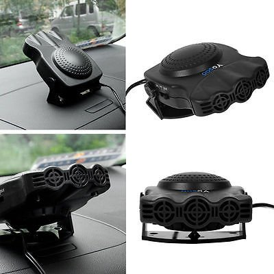 12V Car Vehicle Portable Ceramic Heater Heating Cooling Fan Defroster Demister - Cars Cooling and Heating
