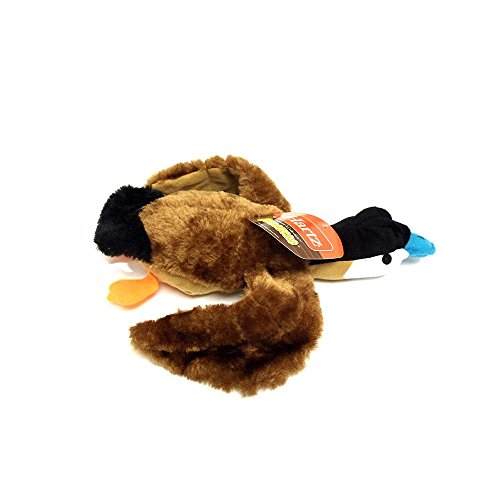 Blue Billed Ducks - Hartz Nature's Collection, Quackers, Plush Blue-billed Duck Dog Toy, Quantity of One