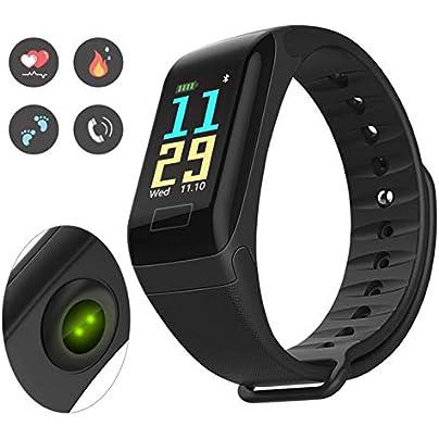 HOYHPK Smart Bluetooth Wristband Heart Rate Blood Pressure Blood Oxygen Monitor Smart Band Sport Fitness Tracker Bracelet Estimated Price £42.19 -
