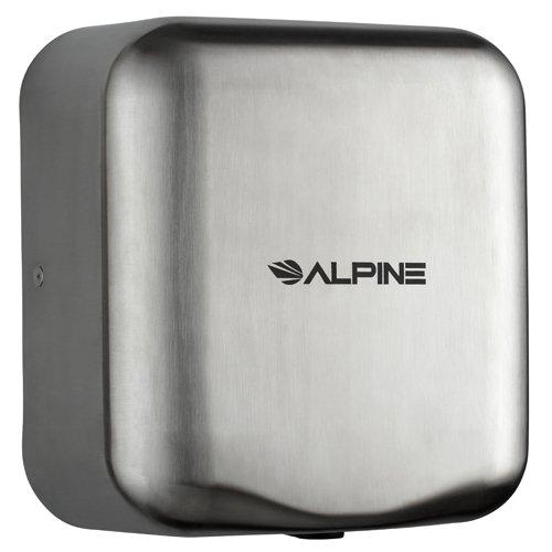Stainless Steel Alpine Hemlock High Speed, Commercial Hand Dryer, 110/120V - BMC-ALP 400-10-SSB