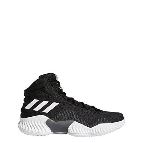 Adidas Originals Pro Bounce 2018 - Zapatillas de Baloncesto para Hombre, Negro/Blanco/Gris, 10.5 M US