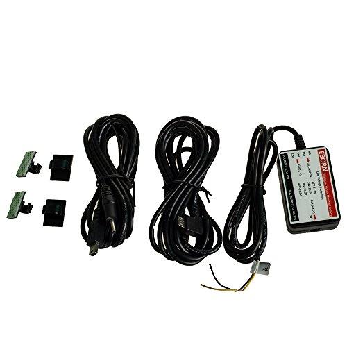 Protection de coupure d/'/électricit/é en basse pression EBORN Micro//Mini USB Fil dur automobile,Fil d/'alimentation /électrique intelligent sur v/éhicule 12V//24V//40V conversion /à 5V