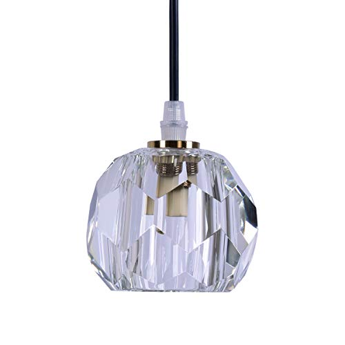- Mini Glass Pendant Lighting Fixture for Dining Room, Kitchen, Coffee Bar, Living Room, Study Room