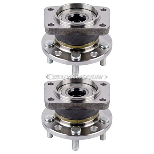 Pair Rear Wheel Hub Bearing Assembly For Jaguar X-Type 2002-2008 - BuyAutoParts 92-902952H New