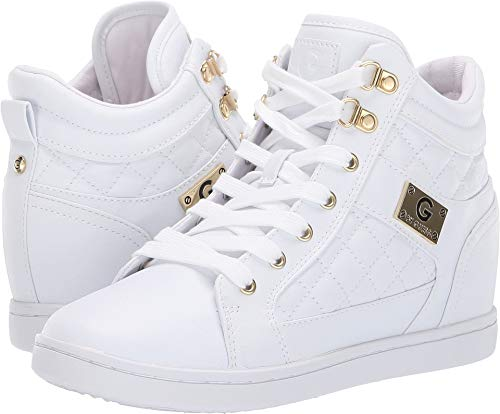 G by GUESS Women's Dayna White 5.5 M US M