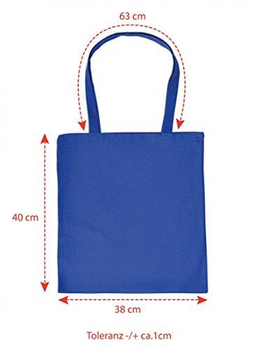 Lustig bedruckte Stofftasche - Was es auch ist: ICH war´s NICHT! - Sprüche - Tasche Baumwolltasche Beutel Tragetasche