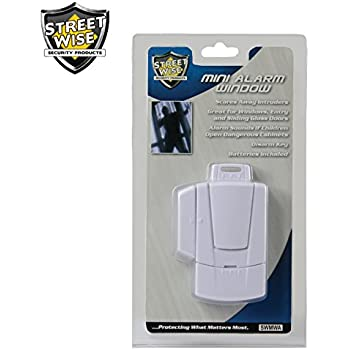 Streetwise Security Products Mini Window Alarm Security