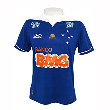 c6bb227748 OLK Cruzeiro Authentic Home Kids Jersey 2013 - no. 10 - 10