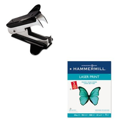 KITHAM107681UNV00700 - Value Kit - Hammermill Laser Print Office Paper (HAM107681) and Universal Jaw Style Staple Remover (UNV00700)