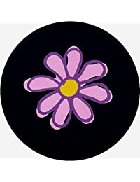 "<span class=""a-offscreen"">[Sponsored]</span>Flower in Pink Tire Cover 26"" - 37"""