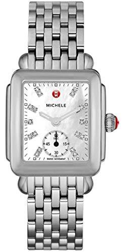 Michele Women s Deco Mid Diamond Dial Watch