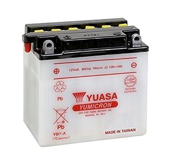 YTX7L-BS Batterie für HONDA 125ccm CA 125 Rebel Baujahr 1995-1996