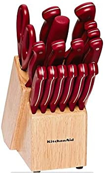KitchenAid Red Stamped Cutlery Set
