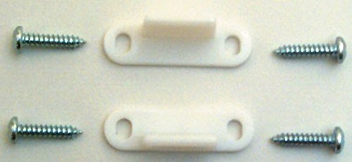 (Prime-Line Products N 6567 Bypass Door Floor Guide, Nylon,(Pack of 2))