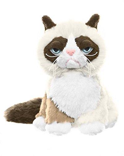 Ganz Grumpy Cat Sitting Plush, 5