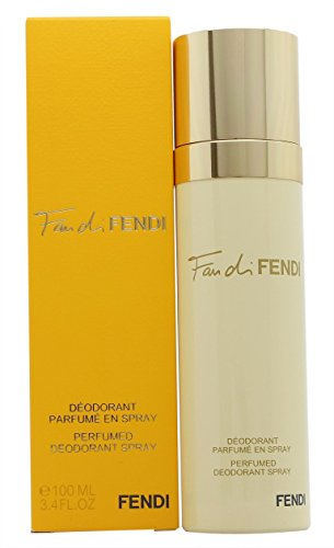 Fendi Fan Di Fendi Perfumed Deodorant Spray for Women, 3.4 Ounce