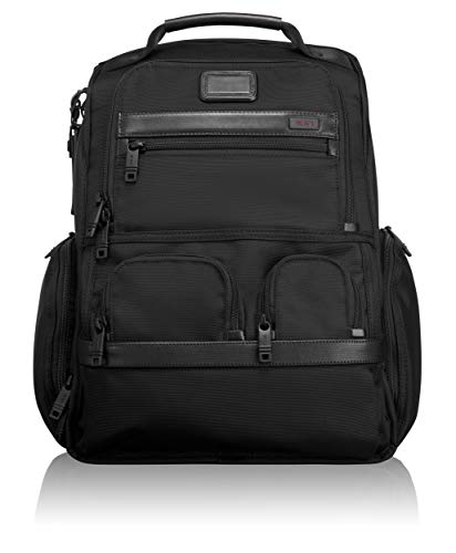 TUMI - Alpha 2 Compact Laptop Brief Pack - 15 Inch Computer Backpack for Men and Women - Black