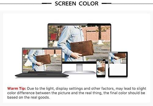 YGLCH Ledertasche Retro italienische Crazy Horse Muster Computer-Beutel Unisex Aktentasche für Büro Laptops für MacBook 13/13.3,Coffeeb