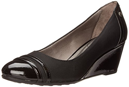 - LifeStride Women's Juliana, Black Micron, 9 M US