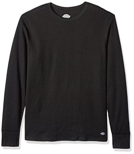 Dickies Underwear - Dickies Men's Heavyweight Cotton Thermal Top, Black, X-Large