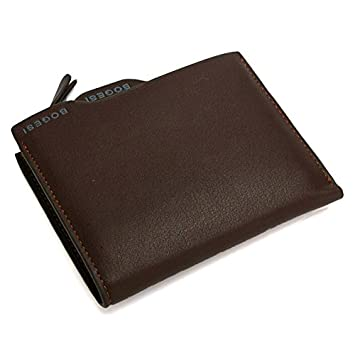 BOGESI Artificial PU Leather Men's Wallet  BOG WA836 BWN_Brown